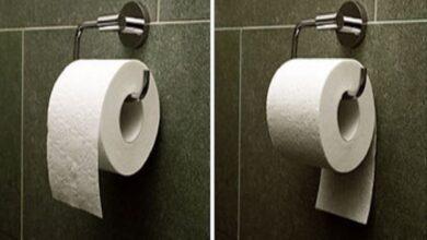 Photo of Cuál es la forma correcta de colocar el papel higiénico