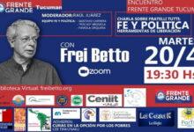 Photo of Charla con Frei Betto sobre Fratelli Tutti